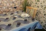 KAMACA Wetterfeste OUTDOOR – Tischdecke mit wunderschönem Motiv - verschiedene Größe und Motive stehen zur Auswahl - die perfekte Tischdecke für drinnen und draußen - geeignet für Haus, Terrasse, Balkon und Garten - ABWASCHBAR - WIND- und WETTERFEST - WITTERUNGSBESTÄNDIG und WASSER- und SCHMUTZABWEISEND – Neu aus dem KAMACA-SHOP (130cm x 160cm, Beach)