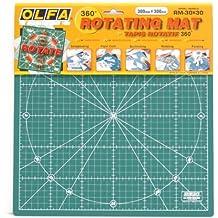Olfa RM-30 - Base de corte rotativa 360º grados (30 x 30 cm