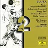 Weill : Concerto pour  violon Op12 / Berliner Requiem (Coffret 2 CD)