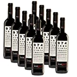 10er SET Rotwein Lesegut Tinto 2012 aus Spanien