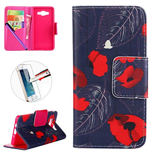 galaxy-a3-2015-leder-case-samsung-galaxy-a3-wallet-case-newstars-a3-stander-flip-fall-kreditkarten-s