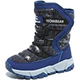 Stivali da Neve Bambini Pelliccia Boots Ragazzi Ragazza Stivali Inverno Scarpe Pelliccia Calde Impermeabili Scarponi da Neve