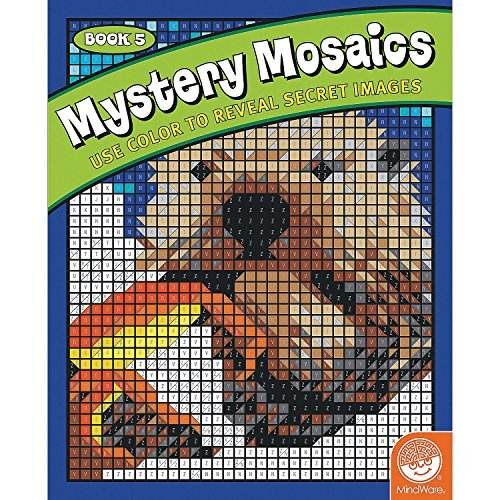 Mystery Mosaics Book 5 by MindWare