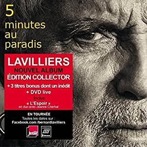 5 Minutes au Paradis (CD+DVD Digisleeve - Tirage Limité)