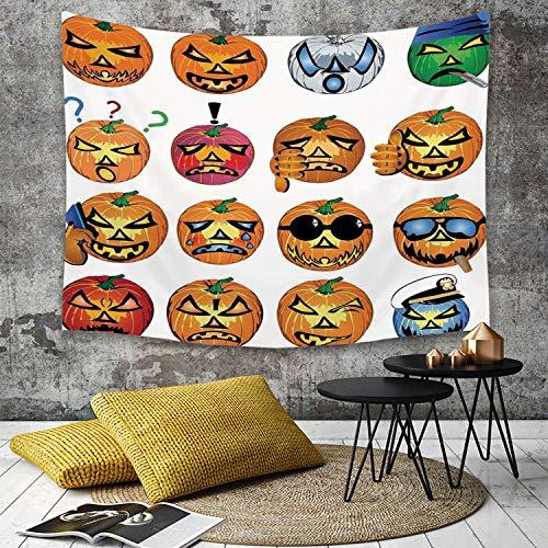 College Humor Halloween - Tapestry, Wall Hanging, Halloween Dekorationen, Kürbis