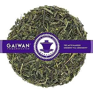 "N° 1177: Thé vert""Sencha"" - feuilles de thé - 250 g - GAIWAN GERMANY - thé vert du Japon"