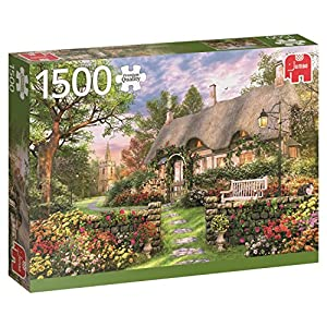 Jumbo- Sunny Cottage pcs Casa de Campo soleada, Puzzle de 1500 Piezas (618367)
