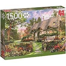 Jumbo - Casa de campo soleada, puzzle de 1500 piezas (618367)