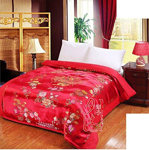 Housse De Couette Imprimée/Chinois Doux,Confortable,Zip,Durable,Empêcher L'allergie-I 180x200cm(71x79inch)