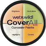 Wet N Wild Concealer – Coverall Concealer-palet – afdekcrème-palet, multicolor, 1 stuk