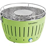 LotusGrill G-GR-34 Holzkohlengrill, Farbe Limone, 35 x 26 x 23.4