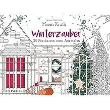 Winterzauber: Postkartenbuch