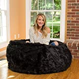Mollismoons Adorable and Luxury Bean Bag (Black)