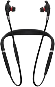 Jabra Evolve 75e Headphones Black Microphone Cordless With Active Noise Cancellation And Battery Life Up To 14 Hours Skype Certified Elektronik