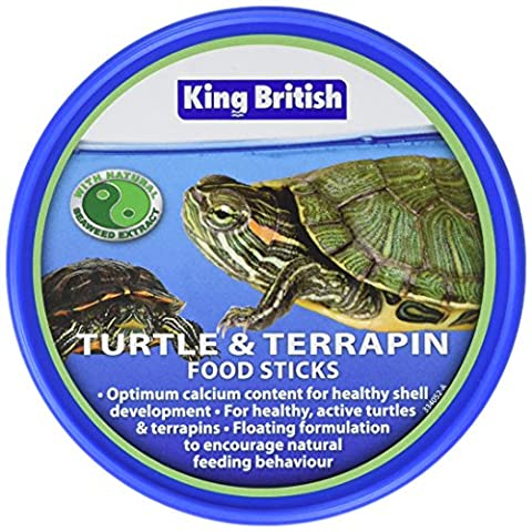 King British Aquarium Fish Food - Turtle And Terrapin Food 110gm