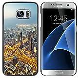 Graphic4You Dubai Carte Postale Design Coque Cache Étui Housse de Protection pour Samsung Galaxy S7 Edge