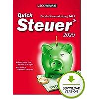 Lexware QuickSteuer 2020 Download für das Steuerjahr 2019|Einfache und schnelle Steuererklärungs-Software für…