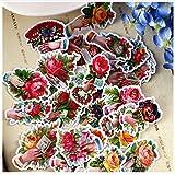 YLGG Kawaii Kreative Selbstgemachte Viktorianische Retro Blumen Aufkleber/Schöne...