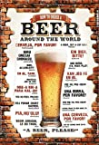 Schatzmix How to Order Beer Around The World Bier bestellen weltweit Mauer Metal Sign deko Schild Blech Garten
