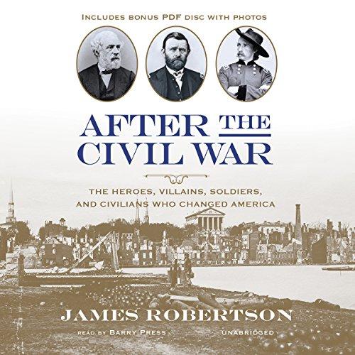 After the Civil War  Audiolibri