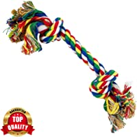 PetVogue Cotton Durable Dog Chew Rope Toy for Small Puppies