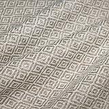 LORENZO CANA Kaschmir-Decke Wohndecke Decke 100% reines Kaschmir handgewebt Sofadecke Kaschmirdecke Wolldecke Creme Beige Hellbraun 96176