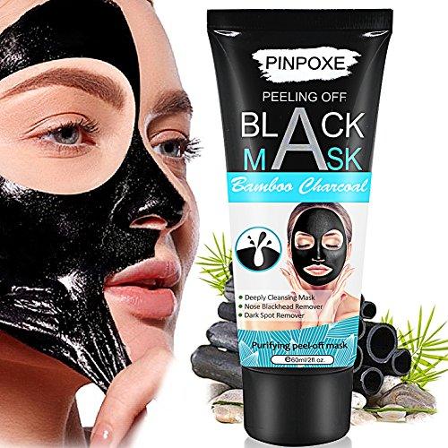 PINPOXE Schwarze Maske zum Entfernen von Mitessern, 60 ml