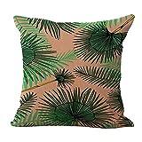 Hengjiang grün-Baumwoll-Leinen-Kissen mit Kissenbezug, weiche Bett-Sofa, Grün, mit 05