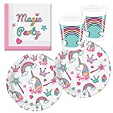 Procos 10118521 Partyset Einhorn Magic Party