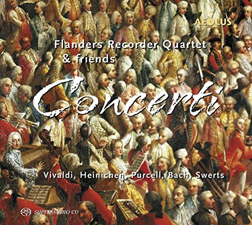 Concerti für 4 Blockflöten