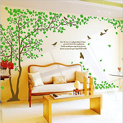 Tree wall art stickers for Amazon wall mural