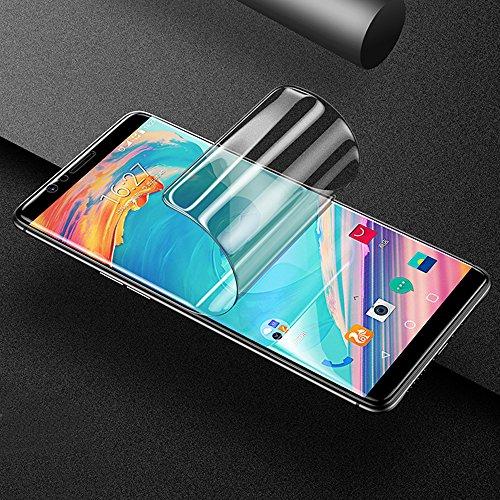 ONICO OnePlus 5T Bildschirm Schutzfolie (Nicht Panzerglas), 3D Selbstheilung Schutzfolie Kompatibel mit Hülle Vollständige Abdeckung (2 * Vorne HD)