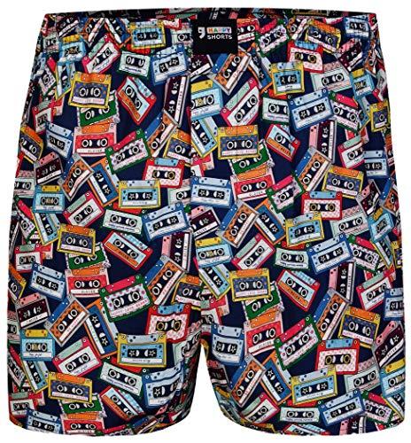r Herren Boxer Motiv Boxershorts Farbwahl, Grösse:M - 5-50, Präzise Farbe:Design 30 ()