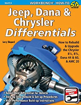 Jeep, Dana & Chrysler Differentials: How to Rebuild the 8-1/4, 8-3/4, Dana 44 & 60 & AMC 20 (NONE) by [Shepard, Larry]