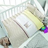 Baby Bettwäsche Set 100% Baumwolle für Babybett Bett. Hohe Qualität Baby Bettwäsche Set mit einzigartigem Design - Escape Bej