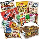 Ostalgiebox +++ Süßes aus dem Osten +++ Geschenk für Oma und Opa +++ DDR Geschenke, DDR Waren und Süßes +++ Wurzener Extra Waffelblätter Milchschokolade, Othello Keks Wikana, Brausepulver, Schokoladentäfelchen DDR Geld und weitere Artikel +++ Geburtstagsgeschenk für Mama und Papa Geschenkidee für Papa Weihnachten Geschenke Weihnachten für Sie Geschenkeset Weihnachten für Opa Geschenkidee zu Weihnachten für Ehemann Geschenkidee zu Weihnachten Geschenk Weihnachten für Frauen -
