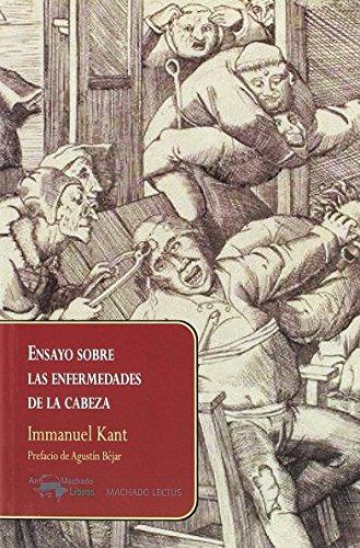 Ensayo sobre las enfermedades de la cabeza (Lectus) por Immanuel Kant
