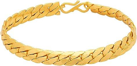 Voylla Diwali Collection and Strand Bracelet for Men (Golden) (8907617107837)