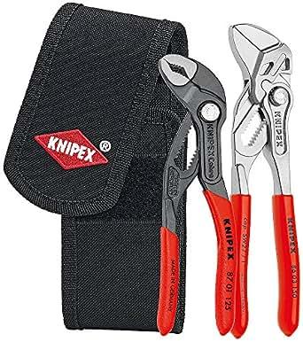 KNIPEX 00 20 72 V01 Mini-jeu de pinces en pochette de ceinture à outils