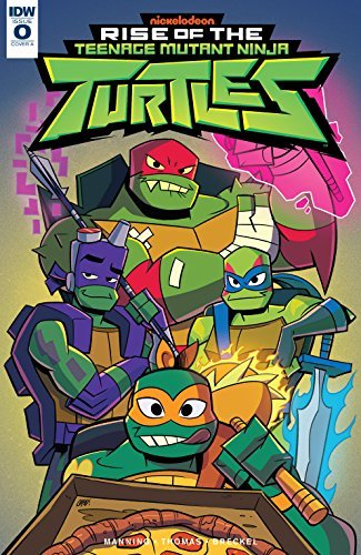 Teenage Mutant Ninja Turtles: Rise of the TMNT #0 (English ...