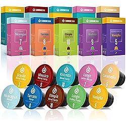 Gourmesso caja degustación – 100 cápsulas