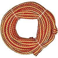 Jranter Bungee - Cuerda de Remolque para Tubos (1,5 m), Color Naranja
