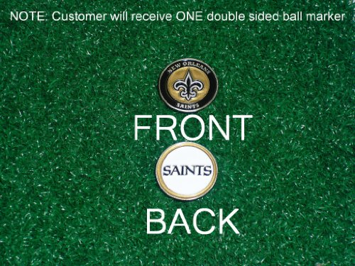 new-orleans-saints-nfl-double-sided-ball-single-marker-only