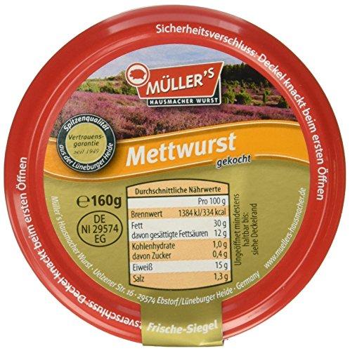Müller's Mettwurst, 160 g