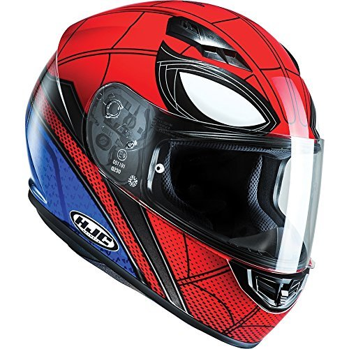 City Cs Sport Von (C5SHXXL - HJC CS-15 Spiderman Homecoming Motorcycle Helmet (Limited Edition Marvel) XXL MC1)