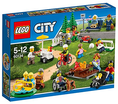 LEGO City 60134 - Set Costruzioni Divertimento al Parco, City People Pack