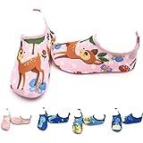 CheChury Niños Niña Zapatos de Agua Descalzo Barefoot Respirable Zapatos de Playa Aire Libre Calcetines de Natación Piscina S