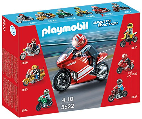 Playmobil Coleccionables - Playset Superbike 5522