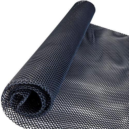 Windhager Marder-Abwehr Bodenmatte aus HDPE, Marderschreck Auto, Madergitter, Maderschutzgitter, schwarz, 05373