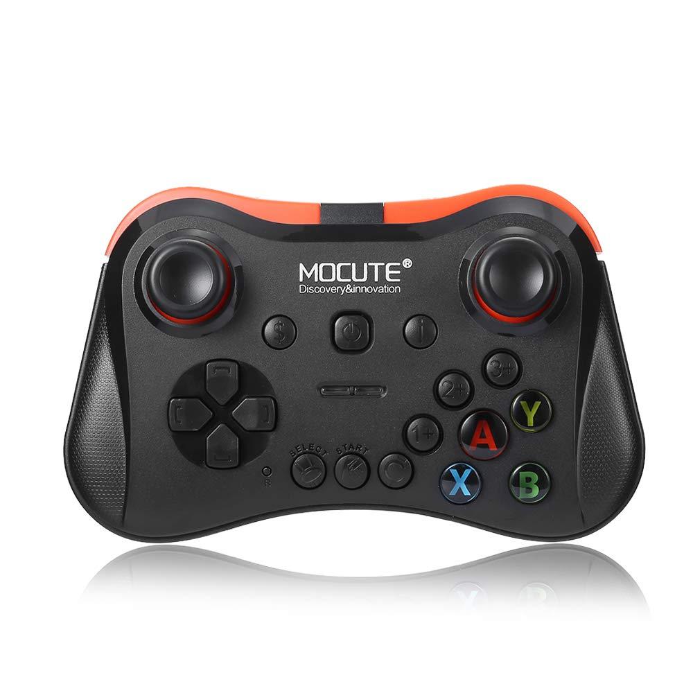 MOCUTE Manette de Jeu san Fil, Manette PC Bluetooth 3.0 Console de Jeu Gamepad Contrôleur Compactible avec VR Contrôleur Mobile pour Android / Windows PC